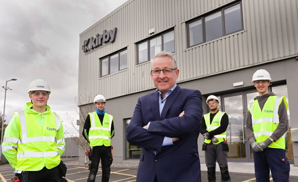 Kirby doubles apprentice intake
