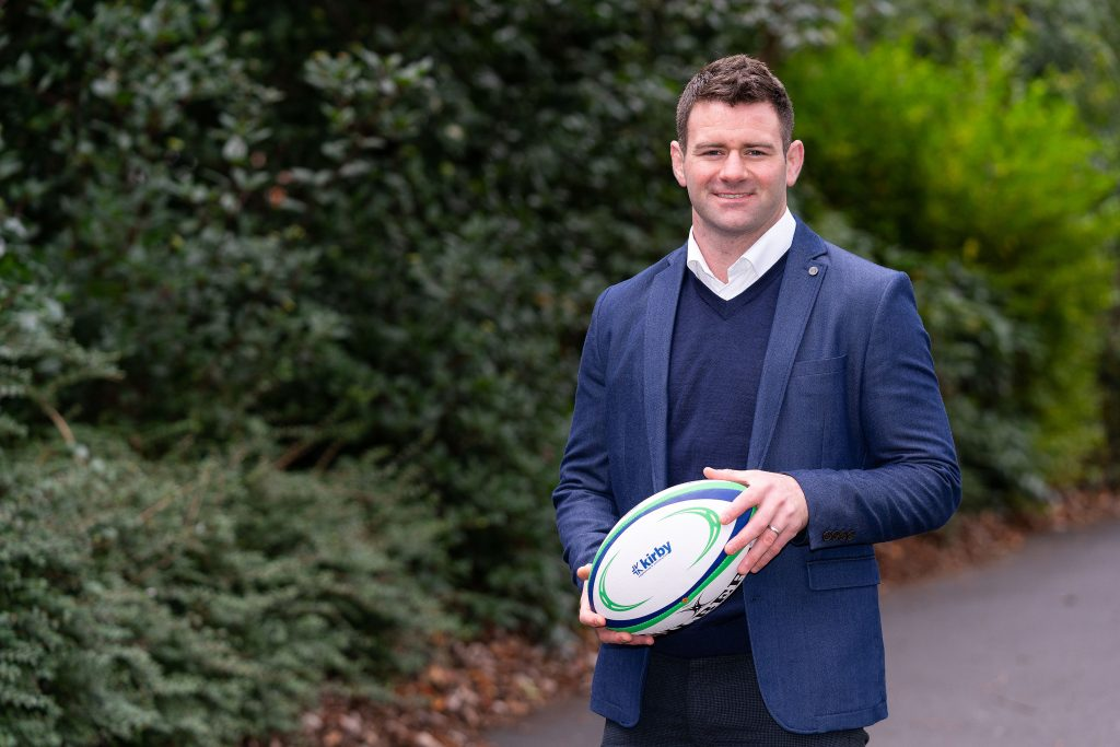 The former Ireland Rugby International, Fergus McFadden, joins the Kirby Team