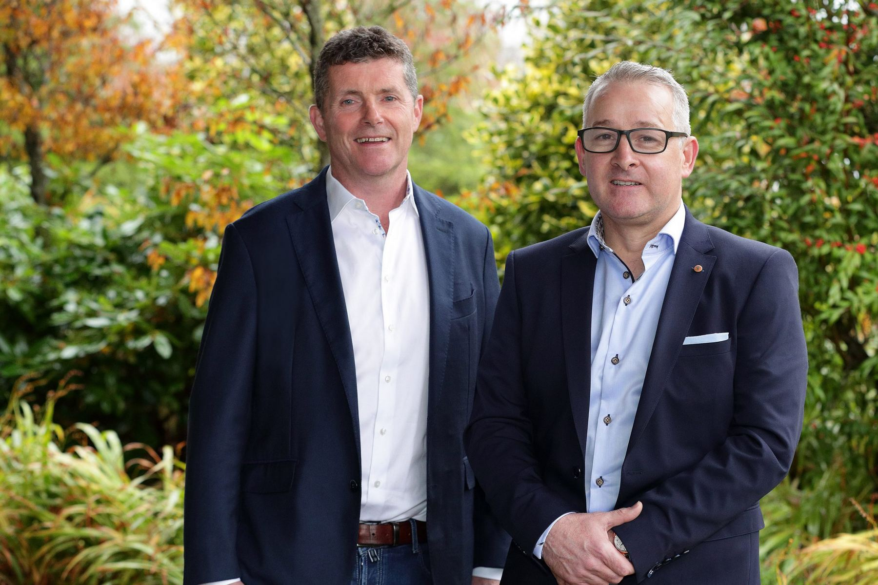 Jimmy Kirby, Group Managing Director and Mark Flanagan, Group Operations Director