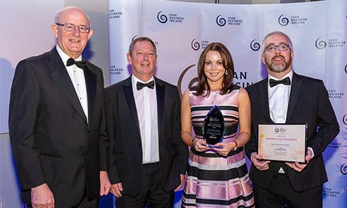 Kirby wins Lean Business Ireland Award