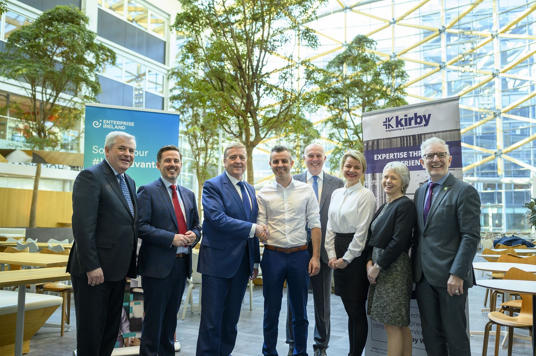 Minister Pat Breen TD Officially Opens Kirby's Netherlands Office