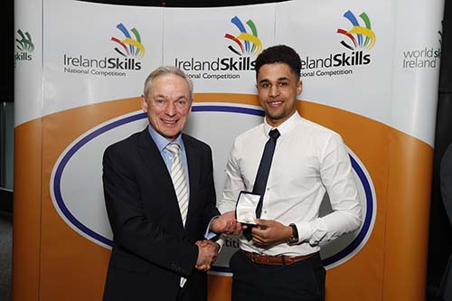 Kirby-apprentice-awarded-Department-of-Education-and-Skills-Medal