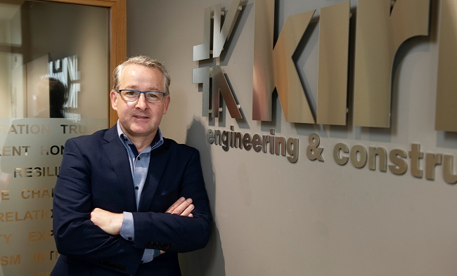 Mark Flanagan, Managing Director of Kirby Group
