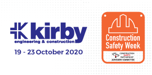 Kirby sponsor CIF Construction Safety Week 2020