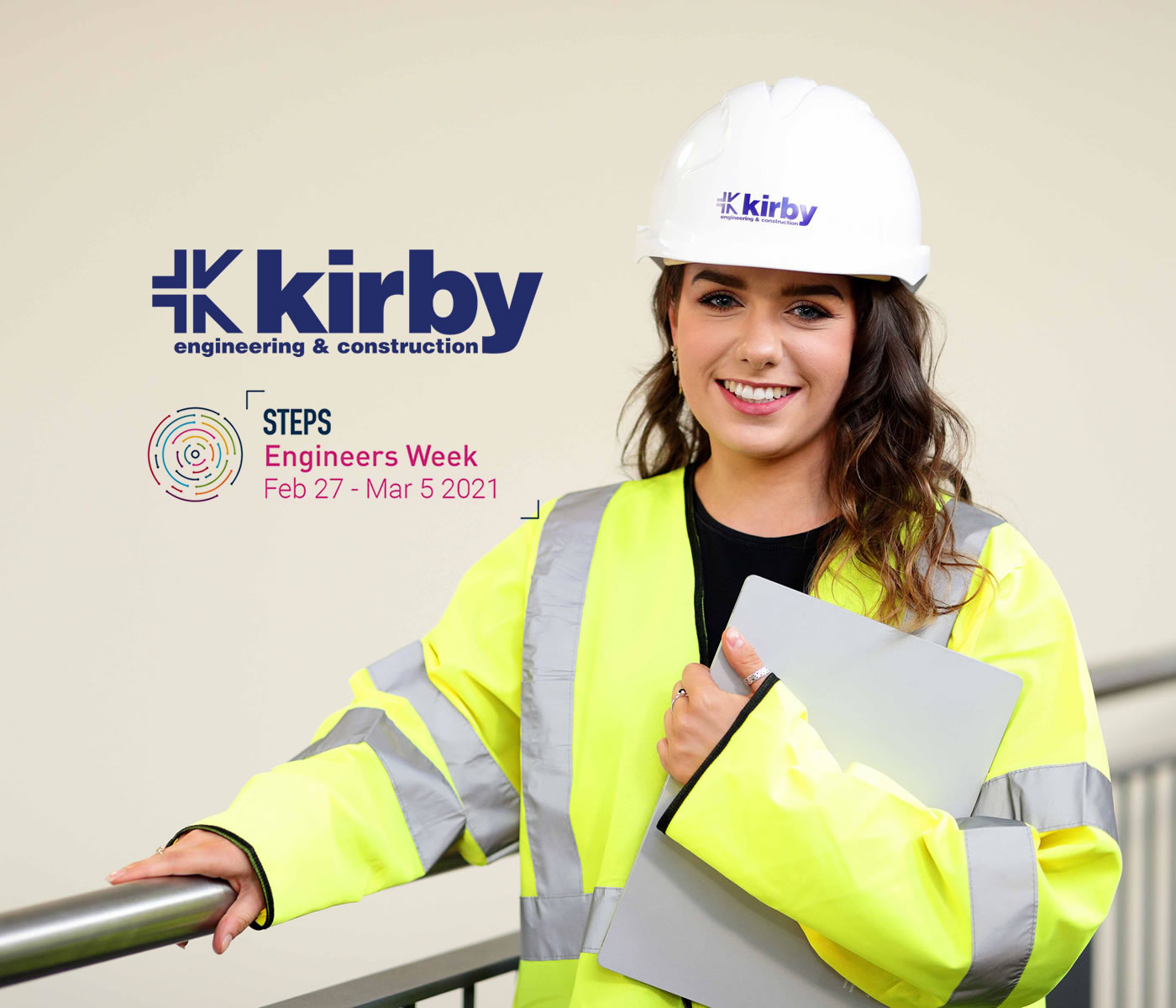 Eve Cassidy from Kirby Group Engineering would love to see more women in her industry. Here, she shares her experience to mark Engineers Week 2021.